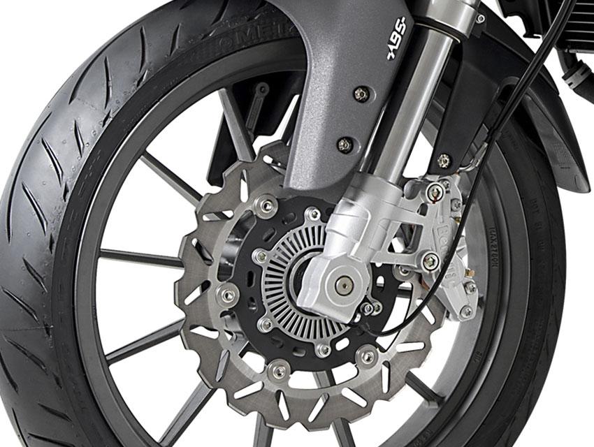 Benelli TRK251 Braking System